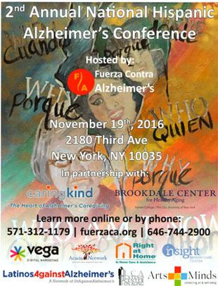 Conference on Alzheimer's - November 19, 2016