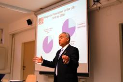 Mario Tapia at Graz University, Austria